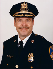 Ed Day as Chief of Detectives of the Baltimore Police Department